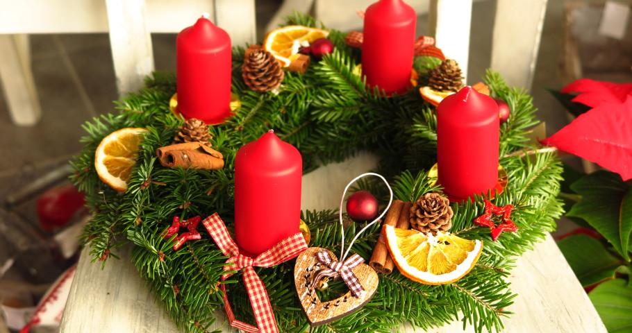 Vánoční workshop adventní věnce