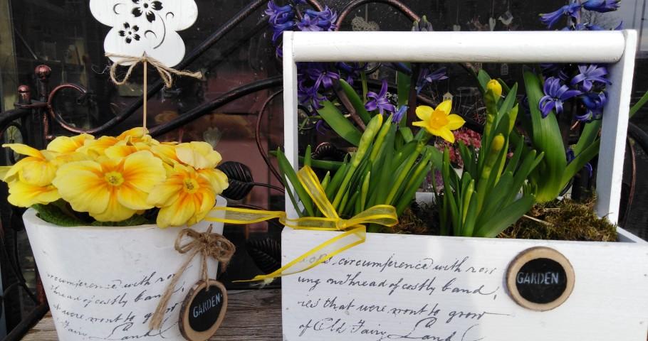 Jarní květinové dílny